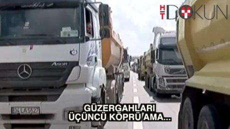 FSM'nin kaçak kamyonları