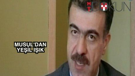 Musul'da Türk askerine onay