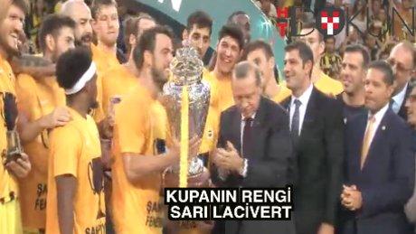 32. Cumhurbaşkanlığı Kupası Fenerbahçe'nin