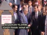 """Başbakan Yıldırım: """"Asker piknik yapmaz görev yapar"""""""