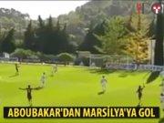 Aboubakar'dan Marsilya'ya gol