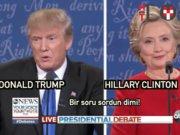 Donald Trump - Hillary Clinton buluşmasının önemli anları