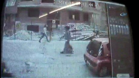 Yenibosna'daki bombalı saldırıda yaşananlar kamerada