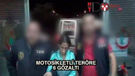 Bombalı motosikletin faili yakalandı
