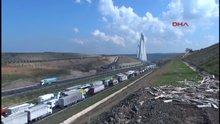 Yavuz Sultan Selim Köprüsü'nde trafik felç