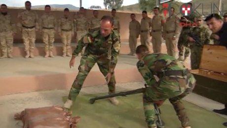 Başika askeri Abadi'den destek istiyor
