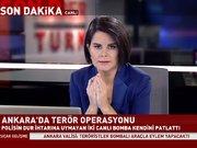 Ankara'da 'teslim ol' çağrısına uymayan 2 canlı bomba kendini patlattı!