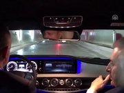 Cumhurbaşkanı Erdoğan, Avrasya Tüneli'nden geçti