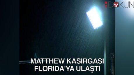 Matthew Kasırgası 900 can aldıktan sonra sakinleşti