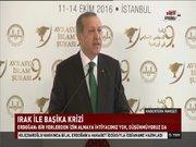 Cumhurbaşkanı Erdoğan'dan Irak Başbakanı İbadi'ye Başika yanıtı