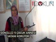 Siirt'te bir kadın: 5 çocuklu, gönüllü köy korucusu