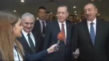 Cumhurbaşkanı Erdoğan ve Aliyev'in samimi sohbeti