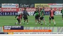 Beşiktaş idmanında gerginlik!