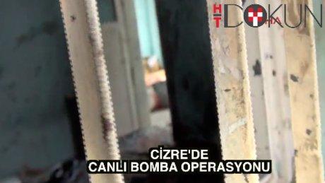 Cizre'de canlı bomba paniği: 2 ölü