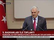 Başbakan Binali Yıldırım'dan 'başkanlık' açıklaması