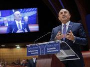 """Çavuşoğlu: """"Gülen bir kanlı bir terör örgütünün elebaşıdır"""""""