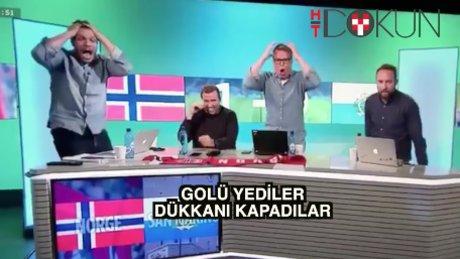 San Marino'dan golü Norveç TV'si yedi!