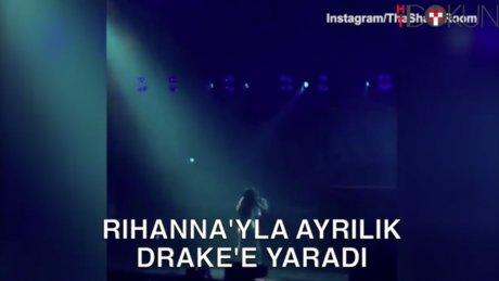 Drake aşkta kaybetse de...
