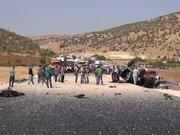 Mardin'de askeri aracın geçişinde patlama