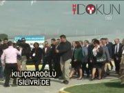 Kılıçdaroğlu Slivri'de temaslarda bulundu