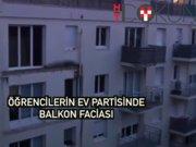Partide balkon çöktü: 4 ölü, 14 yaralı