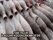 Küçükçekmece'de 1400 yıllık kalp ilaçları bulundu