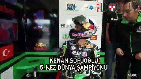 Kenan Sofuoğlu 5. kez dünya şampiyonu