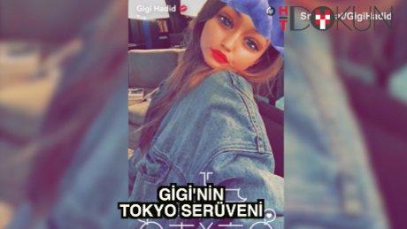 Gigi Hadid'in Tokyo maceraları