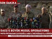 Barzani'den Musul Operasyonu açıklaması: DEAŞ'a öldürücü darbe vuruldu