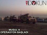 Irak ordusu, Musul Harekatı'nı başlattı