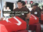 DEAŞ terörü şehitleri polislere son görev