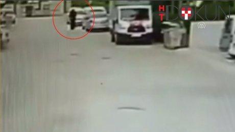 Adana'da çarşaflı genç yakalandı