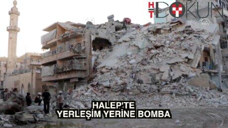 Halep'e hava saldırısı: 49 ölü, 113 yaralı