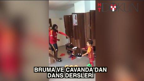 Bruma ve Cavanda'dan dans dersleri
