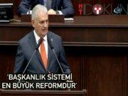 Başbakan Yıldırım'dan 'Başkanlık' vurgusu