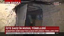 İşte DEAŞ'ın Musul tünelleri