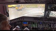 Fenerbahçe'nin uçağı zorunlu iniş yaptı