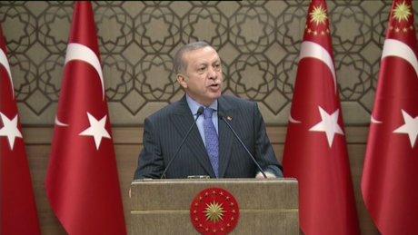 Erdoğan: Türkiye artık yanlış güvenlik anlayışını terk etmiştir