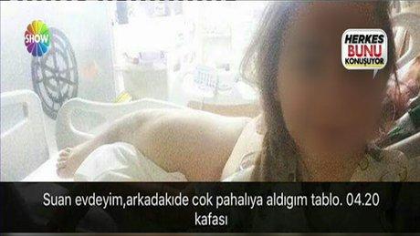 Hemşireden skandal paylaşımlar!