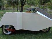 İki kişilik mini otomobil yaptı Almanya'da patent aldı