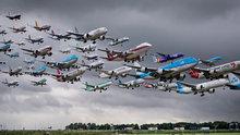 İmkansız demeyin! Bu fotoğraf Havalimanında çekildi