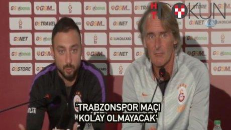 Riekerink: Trabzon maçı kolay değil'
