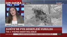 TSK: 6 PYD/PKK hedefi imha edildi