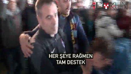 Trabzon'a coşkulu karşılama