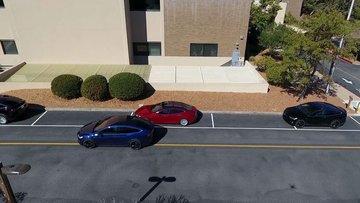 Tesla'dan akılalmaz park testi