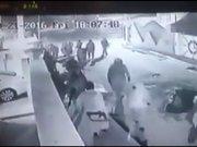 DAEŞ militanlarının Kerkük'e girişi kamerada