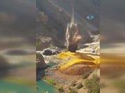 Hakkari'deki Kato Dağındaki tuzak böyle imha edildi