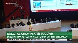 Galatasaray'da tarihi kongre başladı