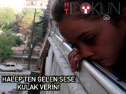 """Halepli çocukların hislerine tercüman: """"Terörist değil çocuğuz"""""""