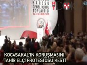 Baro seçimlerinde 'Tahir Elçi' protestosu